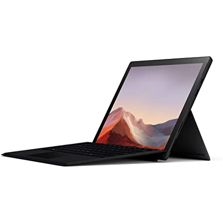 """Microsoft Surface Pro 7 – 12.3"""" Touch-Screen - 10th Gen Intel Core i5 - 8GB Memory - 256GB SSD (Latest Model) – Matte Black with Black Type Cover, Model: QWV-00007"""