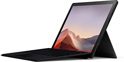 "Microsoft Surface Pro 7 – 12.3"" Touch-Screen - 10th Gen Intel Core i5 - 8GB Memory - 256GB SSD (Latest Model) – Matte Black with Black Type Cover, Model: QWV-00007"