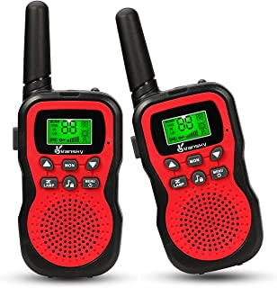 Toys for 3-12 Year Old Boys, Girls, Teen Gifts, Vansky Walkie Talkies For Kids Teen Boy Gifts Birthday (Red, 2 Pack)