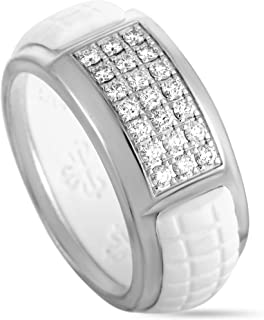 Patek Philippe (Est.) Patek Philippe Aquanaut Luce 18K White Gold Diamond Band Ring