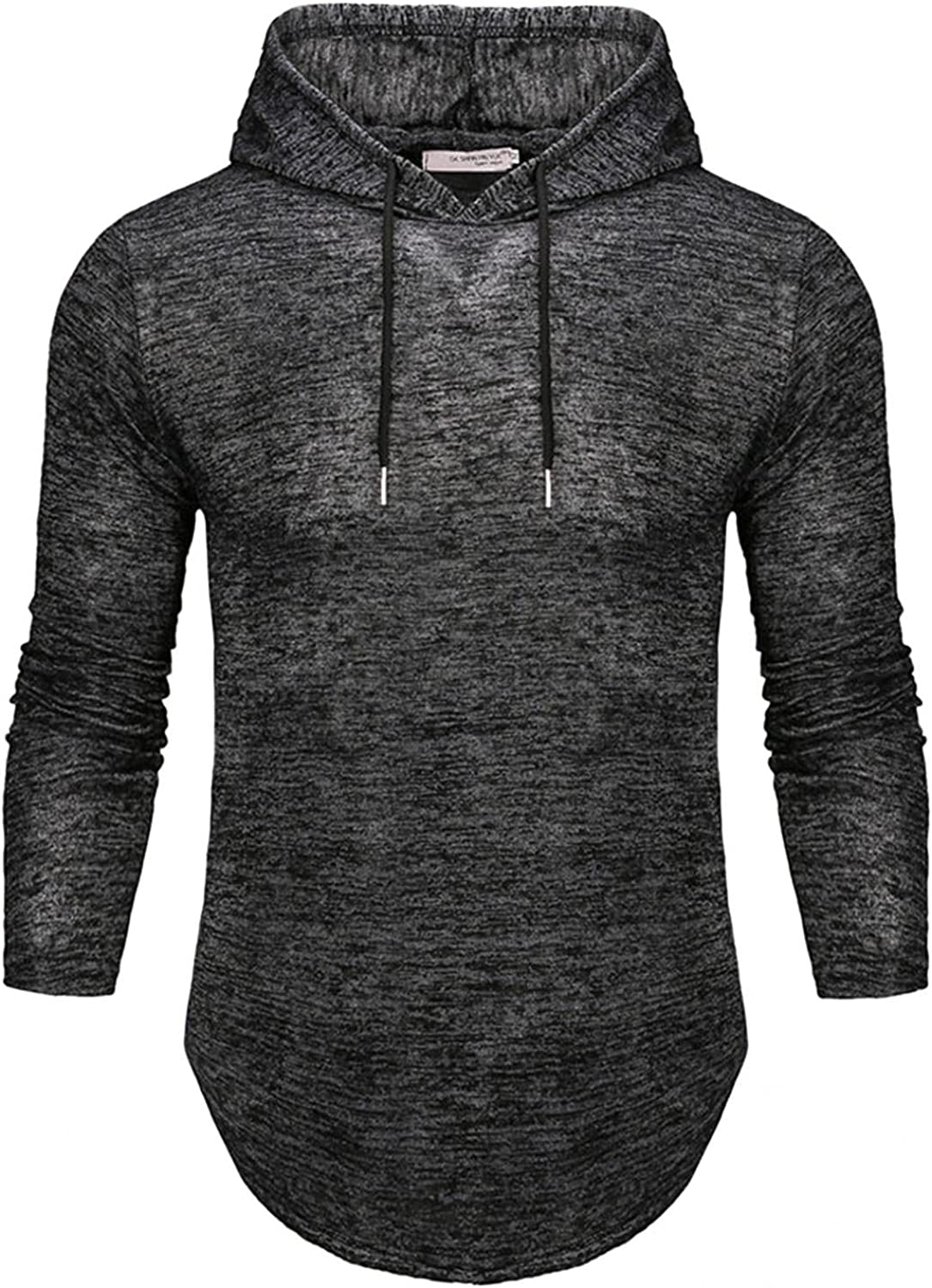 Hoodies for Men Fashion Casual Pullover Slim Solid Warm Shirts Quick Dry Long Sleeve Blend Fleece Mens Hoodies