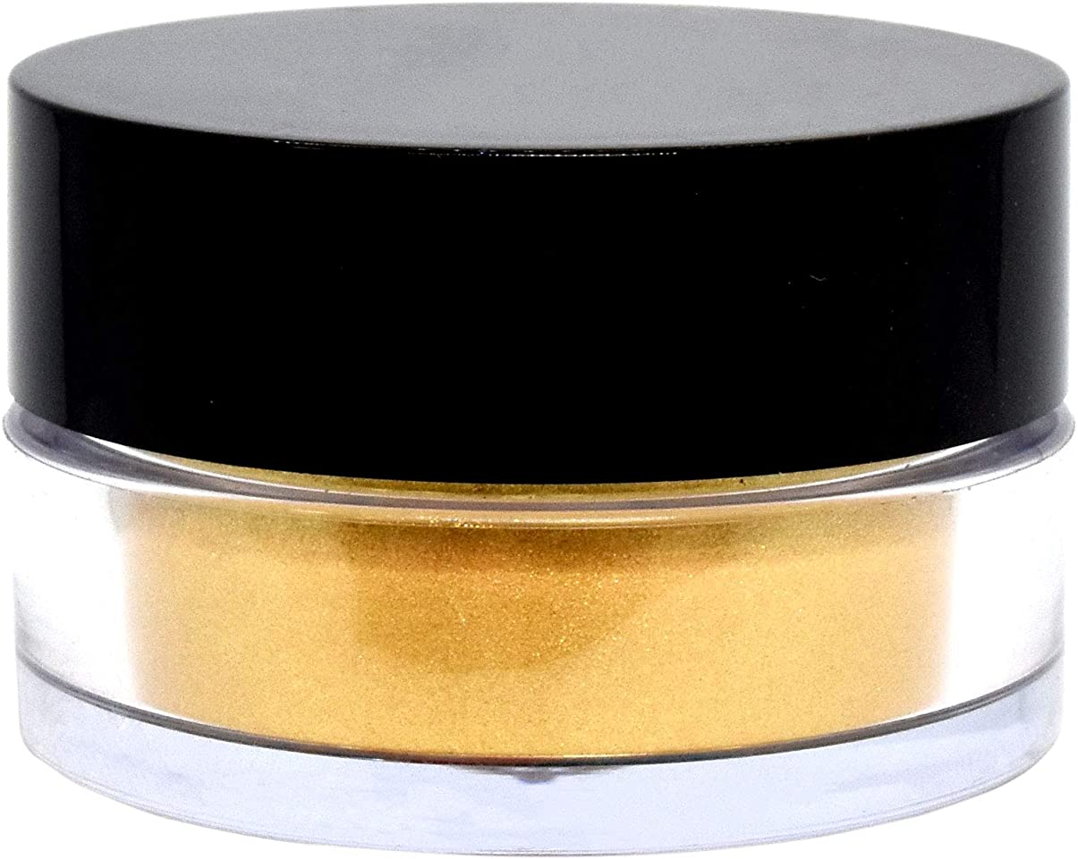 看板フィッティング崇拝する三善 プチカラー 高発色 パール アイシャドウ col:8 ゴールド系