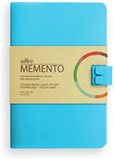 WAFF, Soft Silicone Cover Memento Notebook / Journal, Medium, 5.75