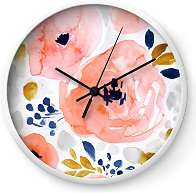 Amazon Com Flowershave357 Carrot Kitchen Wall Clock Home Kitchen