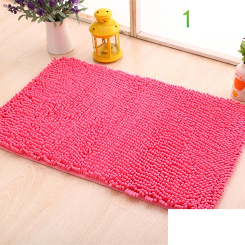 Simple mats Doormat Door [Living Room] Kitchen Floor mats Bathroom Foot Pad Water Absorption and Anti-skidding mat-F 70x140cm(28x55inch)