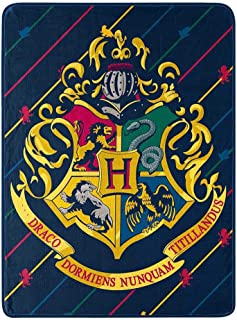 Harry Potter House Pinstripes Throw Blanket, One Size, Multi Color