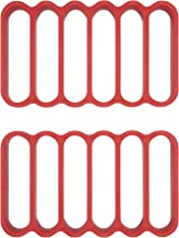 OXO Good Grips Silicone Roasting Racks, 2-Pack Red