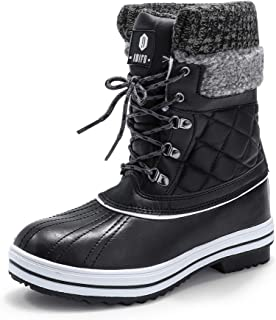 Women's Warm Winter Snow Boots Waterproof Anti-Slip...