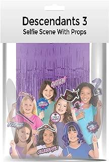 Disney Descendants 3 Selfie Scene with Photo Props
