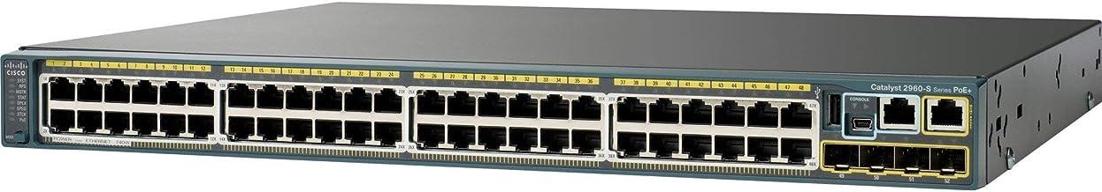 Cisco Catalyst 2960S-48TS-L - Conmutador Ethernet (reacondicionado certificado)