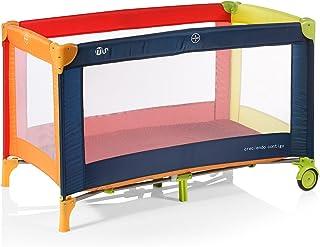 Innovaciones Ms 630122 - Cuna De Viaje Tricolor Incluye Bolsa y Ruedas Para Transporte
