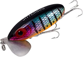 Arbogast Jitterbug - Wounded Perch/Frog Yellow Belly/Fire Tiger