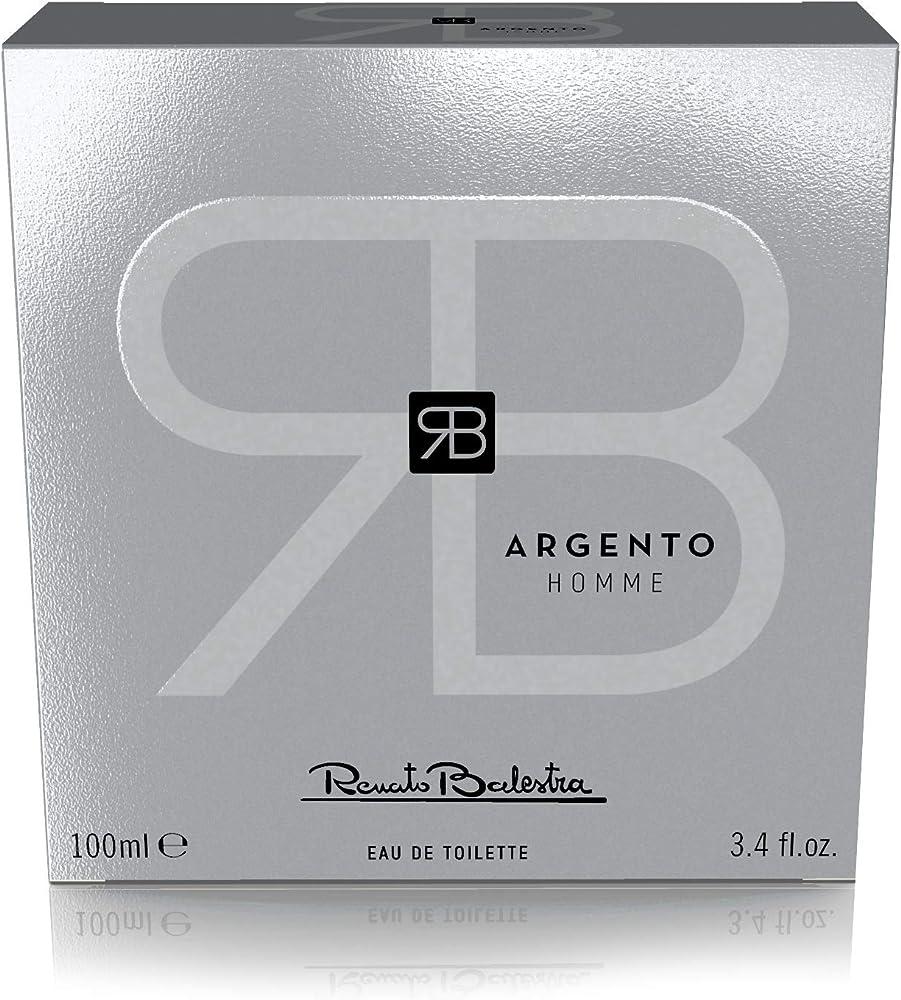 Renato balestra argento, eau de toilette per uomo, 100 ml Z250400N