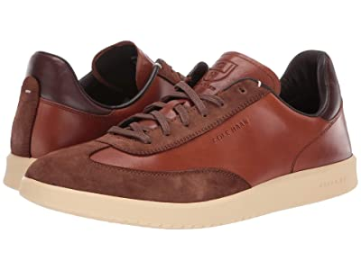Cole Haan Grandpro Turf Sneaker (British Tan Tumbled/British Tan Suede) Men