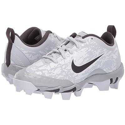 Nike Kids Hyperdiamond 2.5 Keystone Baseball (Toddler/Little Kid/Big Kid) (Pure Platinum/Thunder Grey/Wolf Grey) Kids Shoes