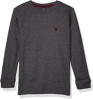 Boys' Long Sleeve Crew Neck Thermal T-Shirt