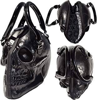 d38801392467bd Women's Kreepsville Skull Collection Handbag Black