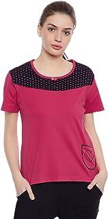 Clovia Women's Assorted Printed T-Shirt