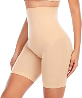 Shapewear Shorts for Women Thigh Slimmer Panties Under Dress Tummy Control Slip Shorts Body Shaper