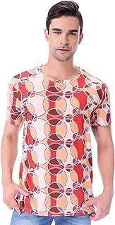 Men's 1970s Retro Multicoloured T-Shirts