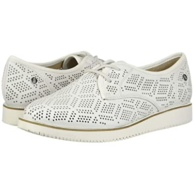 Hush Puppies Chowchow Perf Lace (White Leather) Women