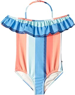 Delia One-Piece Swimsuit (Little Kids)