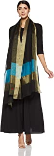 W for Woman Dupatta (18AUW80069-310569_Black_Free size)