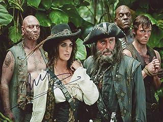 Penelope Cruz Pirates of The Caribbean ON Stranger Tides signerad 12 x 8 foto IMG05 autentisk + COA