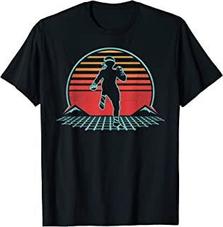 Muay Thai Retro Vintage 80s Style Gift T-Shirt