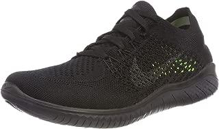 Women's Free RN Flyknit Running Shoe Black/Anthracite 8 M US