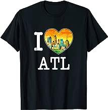 Atlanta Georgia Peach State I Love ATL T-Shirt