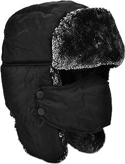 Roffatide Unisex Fleece Balaclava Neck Gaiter Warm Mask Outdoor Sports Cap Climbing Camping Cycling Winter Hat