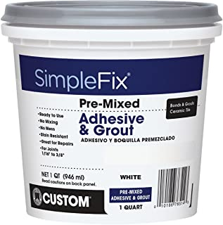 CUSTOM BLDG PRODUCTS TAGWQT Quart Premixed Bright white