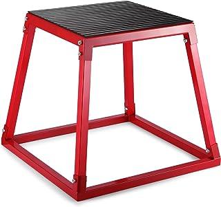 VEVOR Plyometric Platform Box 12/18/24 Inch Fitness Exercise Jump Box Step Plyometric Box Jump for Exercise Fit Training