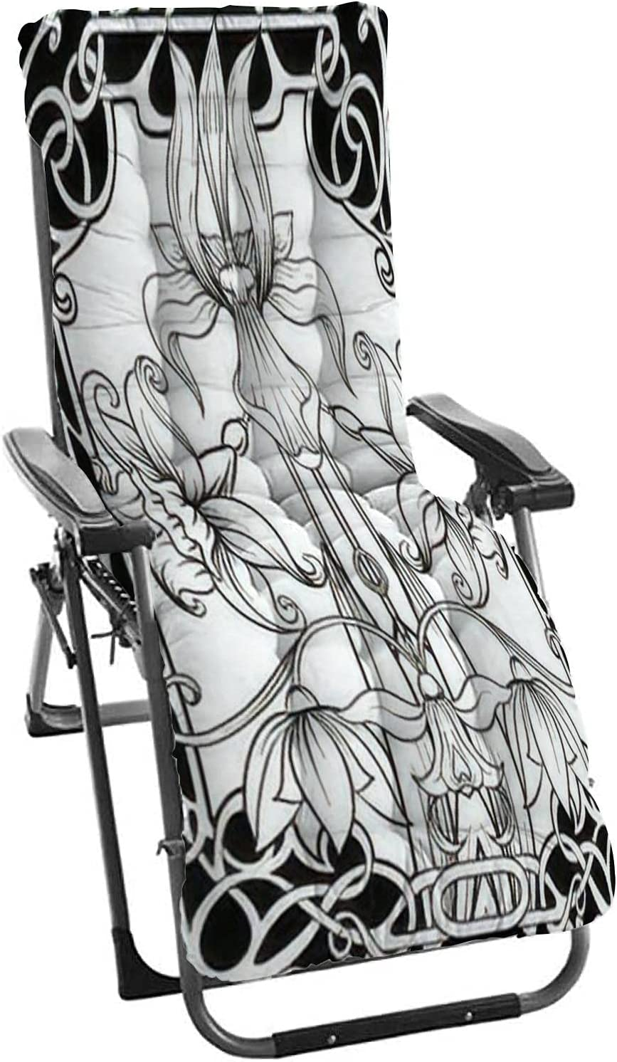 Discount is also underway Sun Loungers Cushions Zero Gravity Cushion Flowers Spring Elegant Chairs