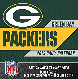 green bay packers box calendar
