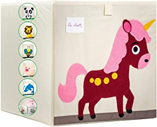 Gai BooM - Boîte de jeu pour enfants - Panier à jouets pliable - 2 variantes - Ouvert ou sac et poignées - Pour organiser ...