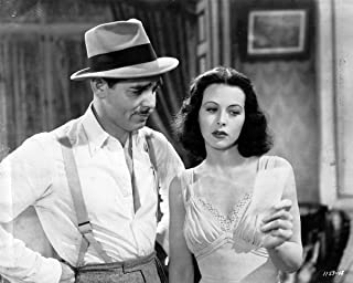 Gifts Delight Laminated 20x16 Poster Clark Gable and Hedy Lamarr Publicity Photo for Comrade X 1940