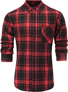 Best red and green plaid shirt men Reviews