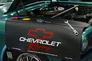 Drake - Grip Fender Cover - Chevrolet Racing Red , Black , 22