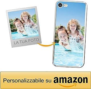 96adc3f9ab Coverpersonalizzate.it Cover Personalizzata per Apple iPhone 7/8 con la Tua  Foto,