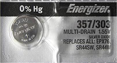 Energizer 357 / 303 SR44 AG13 Silver Oxide Watch Battery