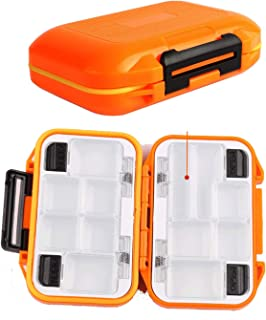LESOVI Fishing-Lure-Boxes-Bait Tackle-Plastic-Storage, Small-Lure-Case, Mini-Lure-Box for Vest, Fishing-Accessories Boxes Storage Containers