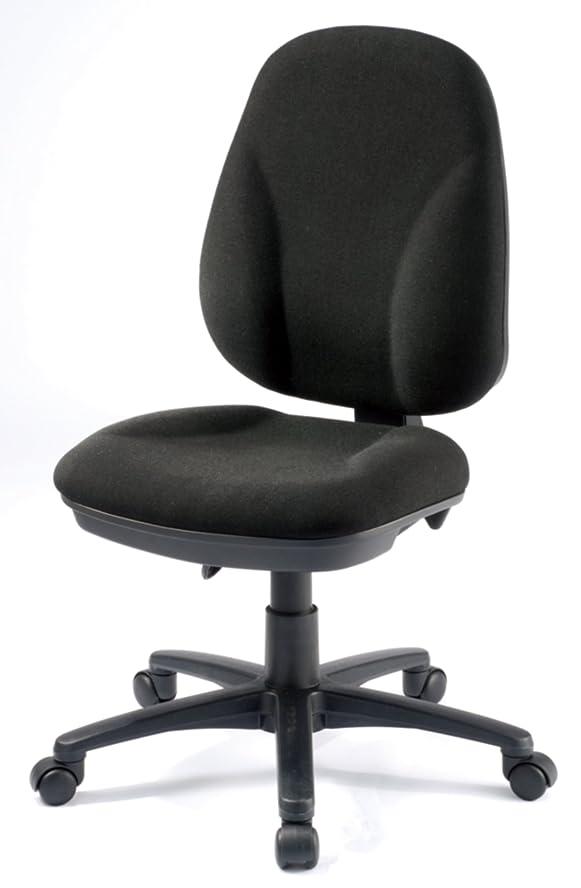 委託妖精崇拝するオフィス?デポ デスクチェア オフィスチェア 肘なし Jura ブラック / ZJK-0227 Black