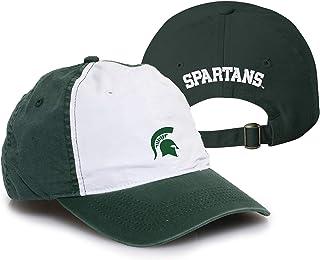 92bcc266092634 NCAA Primary Logo, Team Color Vintage Adjustable Hat, College, University