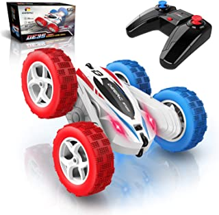DEERC RC Cars Stunt Cars Remote Control Car Toys, 4WD Off...