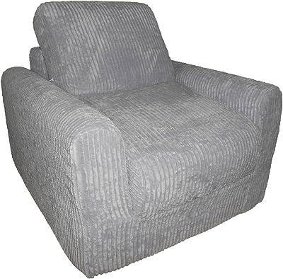 Fun Furnishings Chair Sleeper, Lilac Chenille