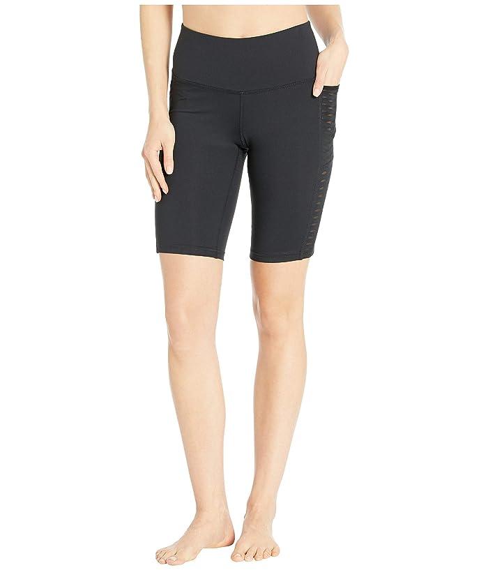 Brooks  9 Greenlight Shorts Tights (Black) Womens Shorts