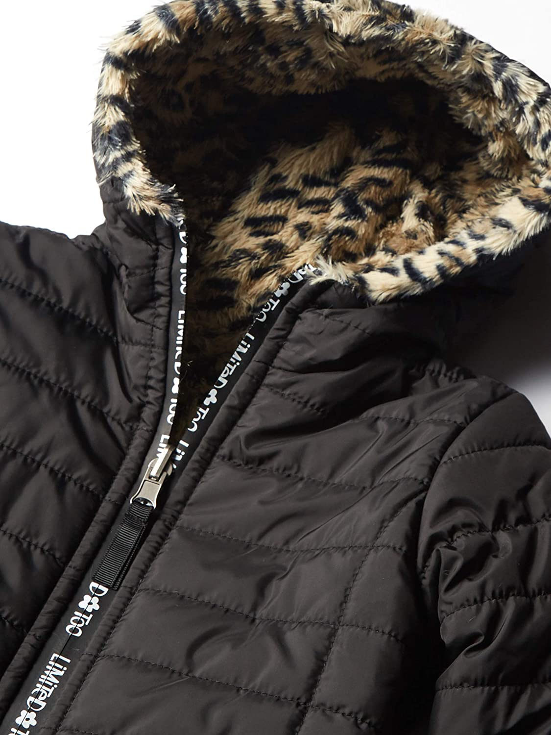 Limited Too girls Reversible Packable Puffer