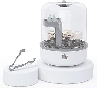 Botella de bebé esterilizadora y botella de leche esterilizadora de vapor para biberones, pezones y bombas de pecho, elimi-nating 99,99% de bacter-ia en 8 minutos